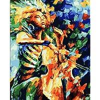 FDDPT Dipingere con i Numeri, Violoncello Astratto,40 x 50cm