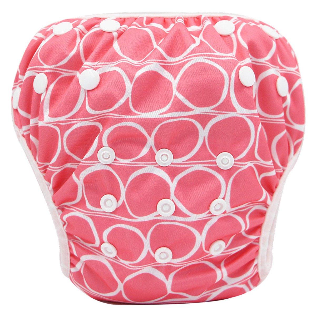 Storeofbaby Pañales de bebé para niñas traje de baño reutilizable ajustable para niñas 0 3 años Swimpant_18_NEW_EU
