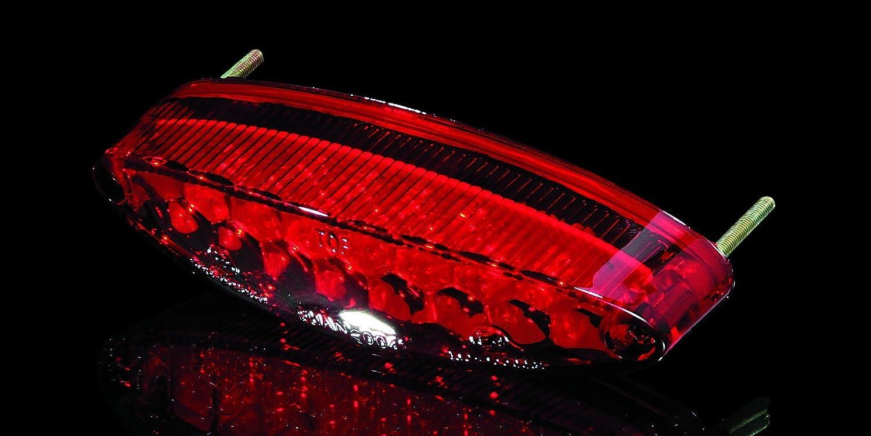 mit Nr.Schild-Bel. R/ücklicht LED NUMBER1 rot