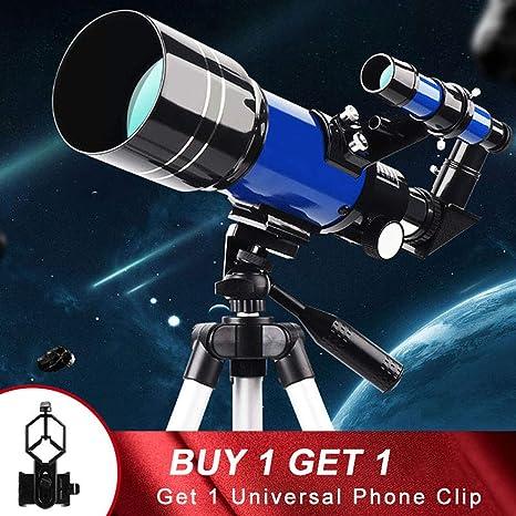 JSX Telescopio Astronómico Profesional De Gran Apertura Ultra HD con Trípode De 70 Mm Refractor Visión Nocturna Luna Observación para Adultos: Amazon.es: Deportes y aire libre