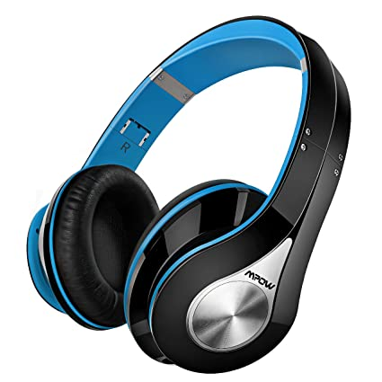 Mpow inalámbrico Bluetooth auriculares de diadema, [de alta quanlity] suave orejeras con auriculares