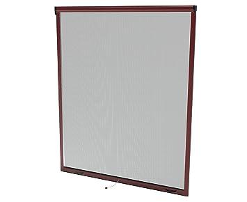 Fenster mit rolladen nachrüsten  Windhager Insektenschutz Rollo Fenster, 160 x 160 cm, braun, 03804 ...