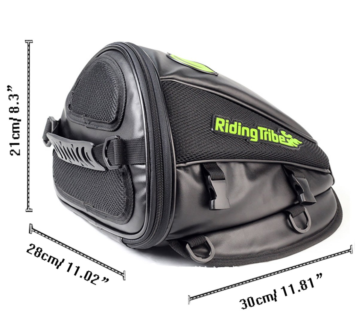 fd36ab7a7b67 Amazon.com  Motorcycle Back seat Bag