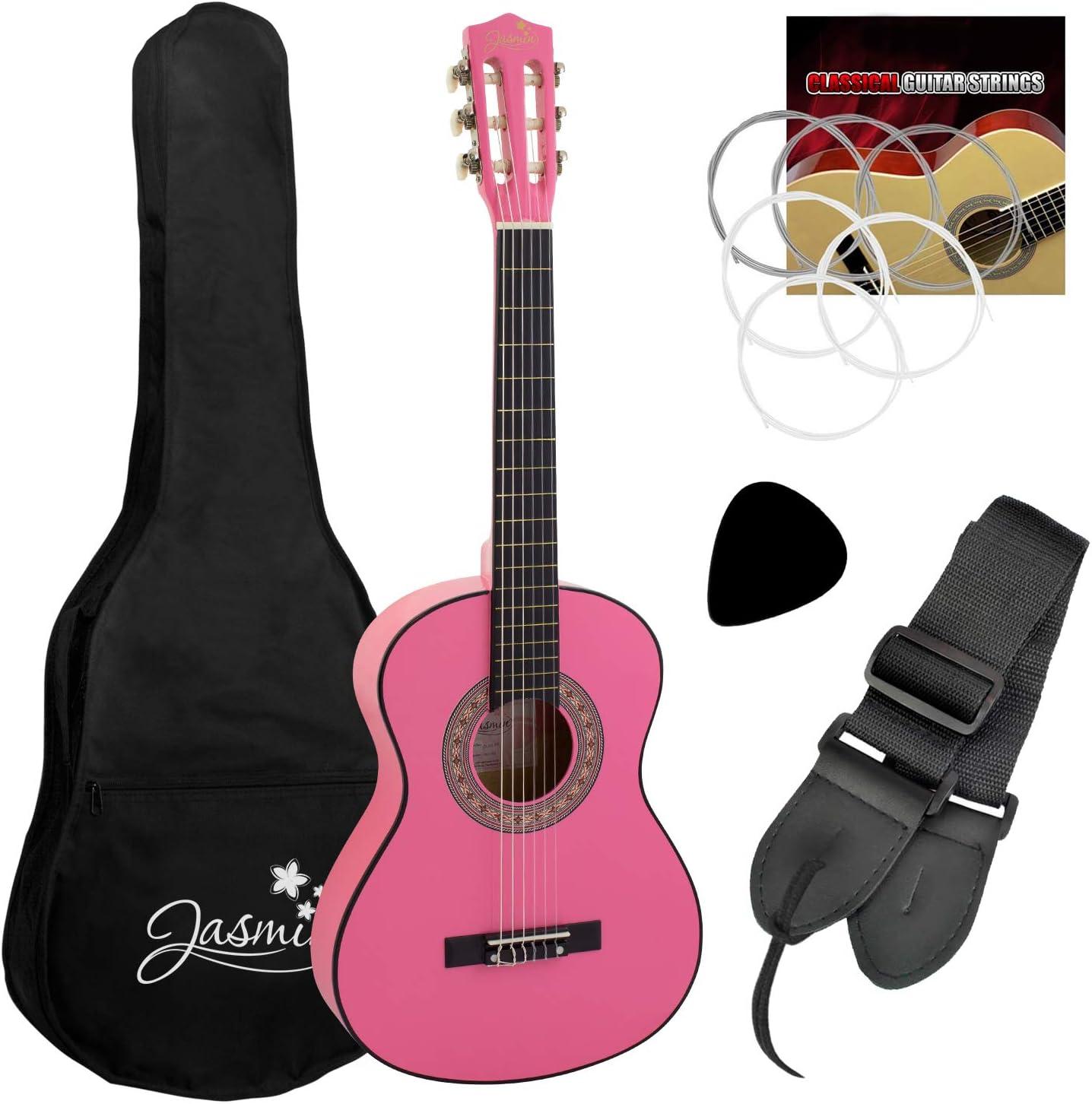 Tiger Music CLG6-PK - Guitarra clásica