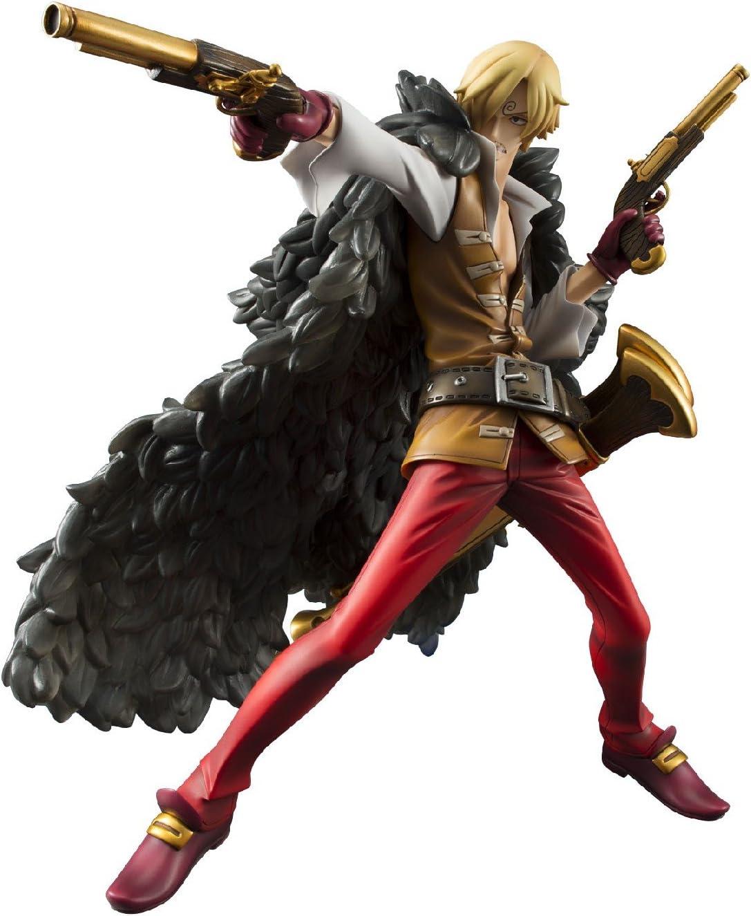 Amazon Com Megahouse One Piece P O P Edition Z Version Sanji Pvc Figure Excellent Model Toys Games