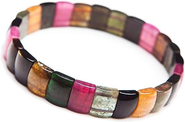 Natural Multi ColorTourmaline Bangle Bracelet