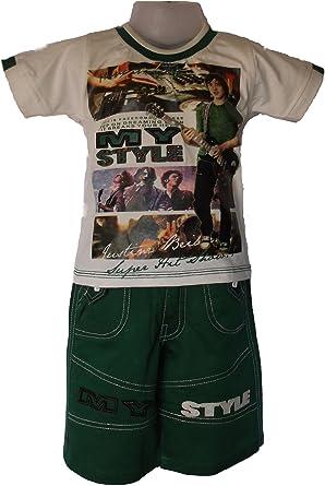 Shinchan Little Boys Shinchan T-Shirt With Shorts