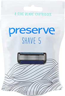 product image for Preserve Shave 5 Replacement Blades - 4 CT- 6 packs