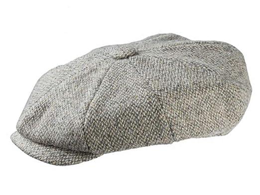 1d12b93a7ca5c Olney Redford Harris Tweed Newsboy Cap at Amazon Men's Clothing store: