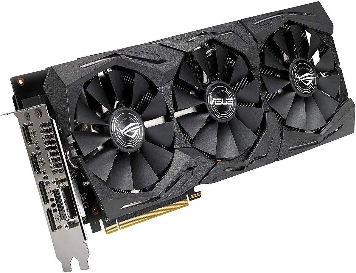 ASUS ROG Strix Radeon Rx 590 8G Gaming GDDR5 DP HDMI DVI VR Ready AMD Graphics Card Graphic Cards ROG-STRIX-RX590-8G-GAMING