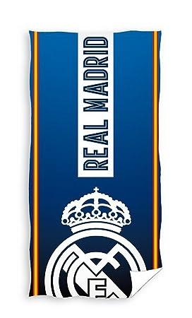 Real Madrid Toalla de ducha (150 x 75 cm Toalla de playa toalla rm173030: Amazon.es: Deportes y aire libre