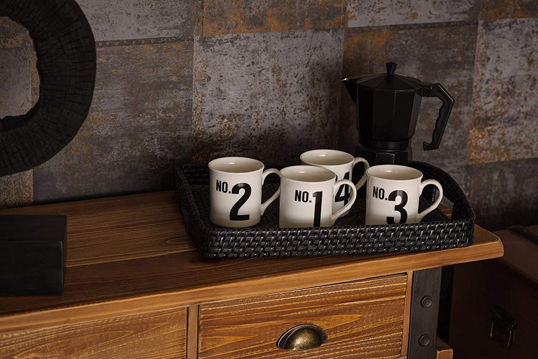 Premier Housewares 0602463 Cafeti/ère Italienne 6 Tasses Aluminium Noir
