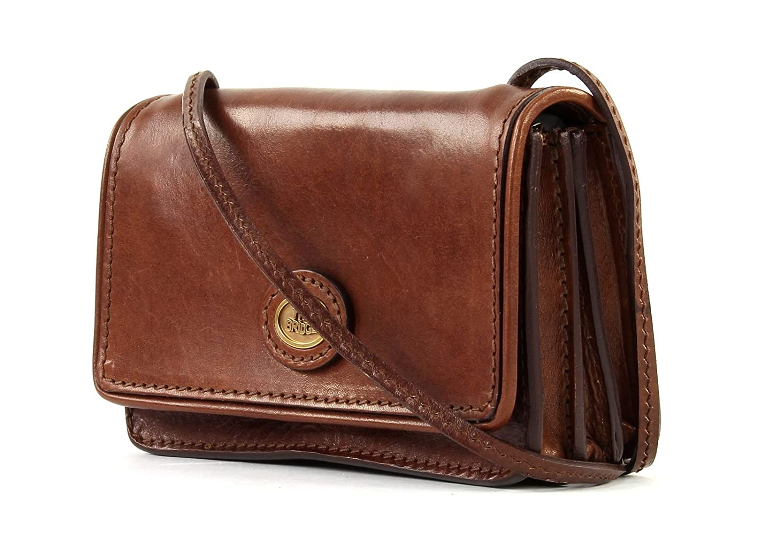 40acd344406 The Bridge Messenger Bag 02010901-14 Brown: Amazon.co.uk: Luggage