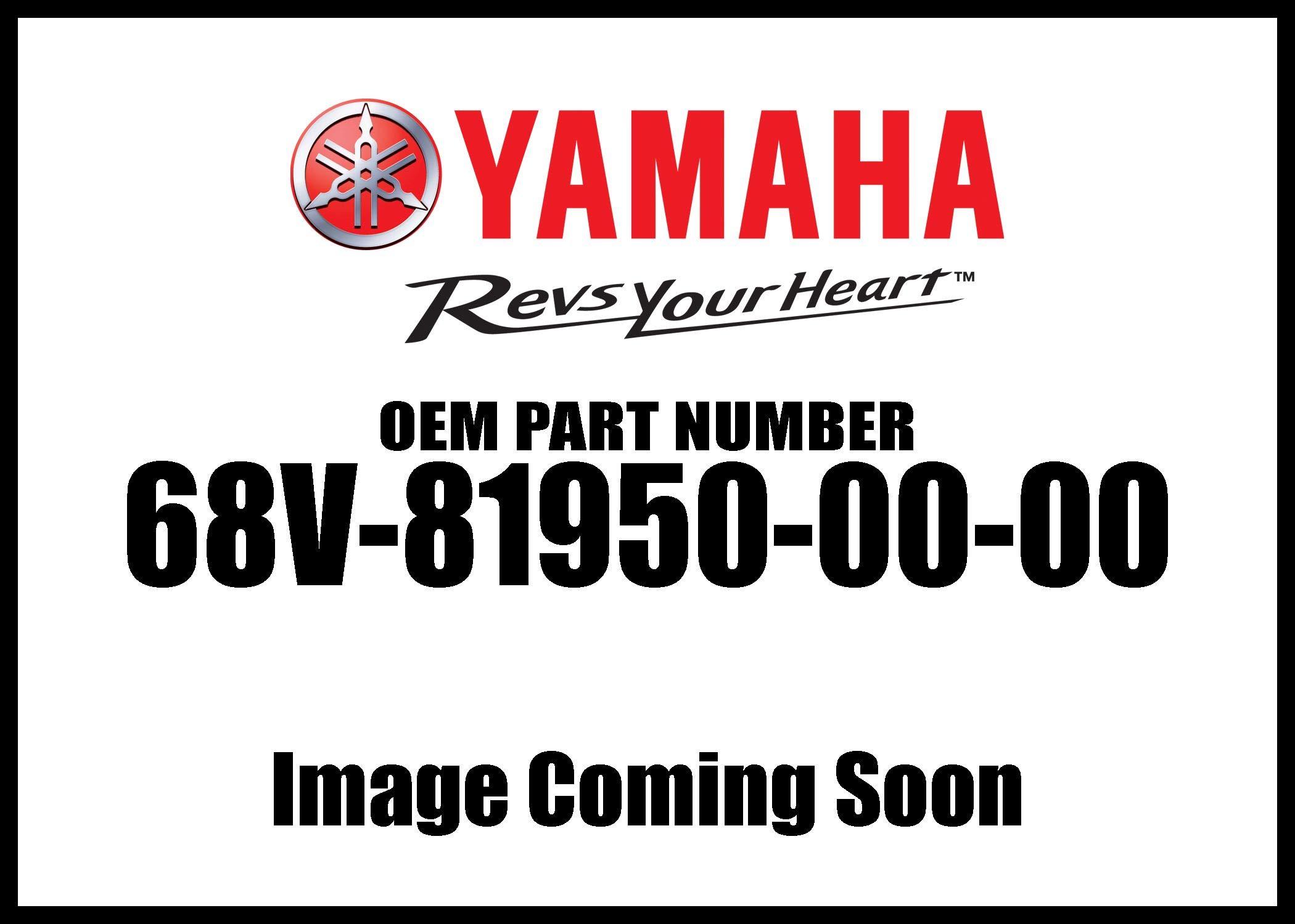 Yamaha 68V-81950-00-00 Relay Assy; Outboard Waverunner Sterndrive Marine Boat Parts by Yamaha
