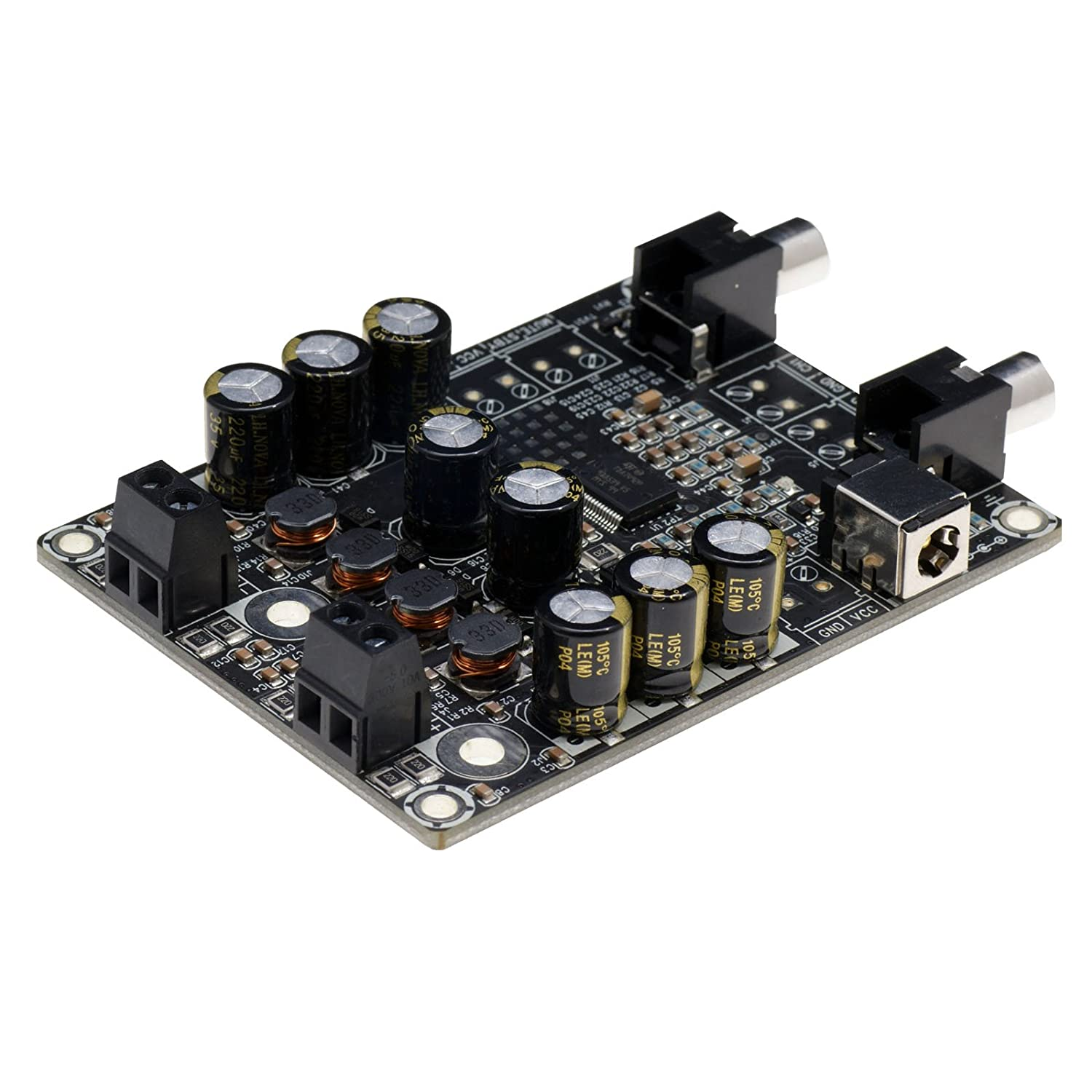 25 Watt Mono Classd Audio Power Amplifier Circuit 2 X 25watt Class D Board Tda7492p Car Electronics