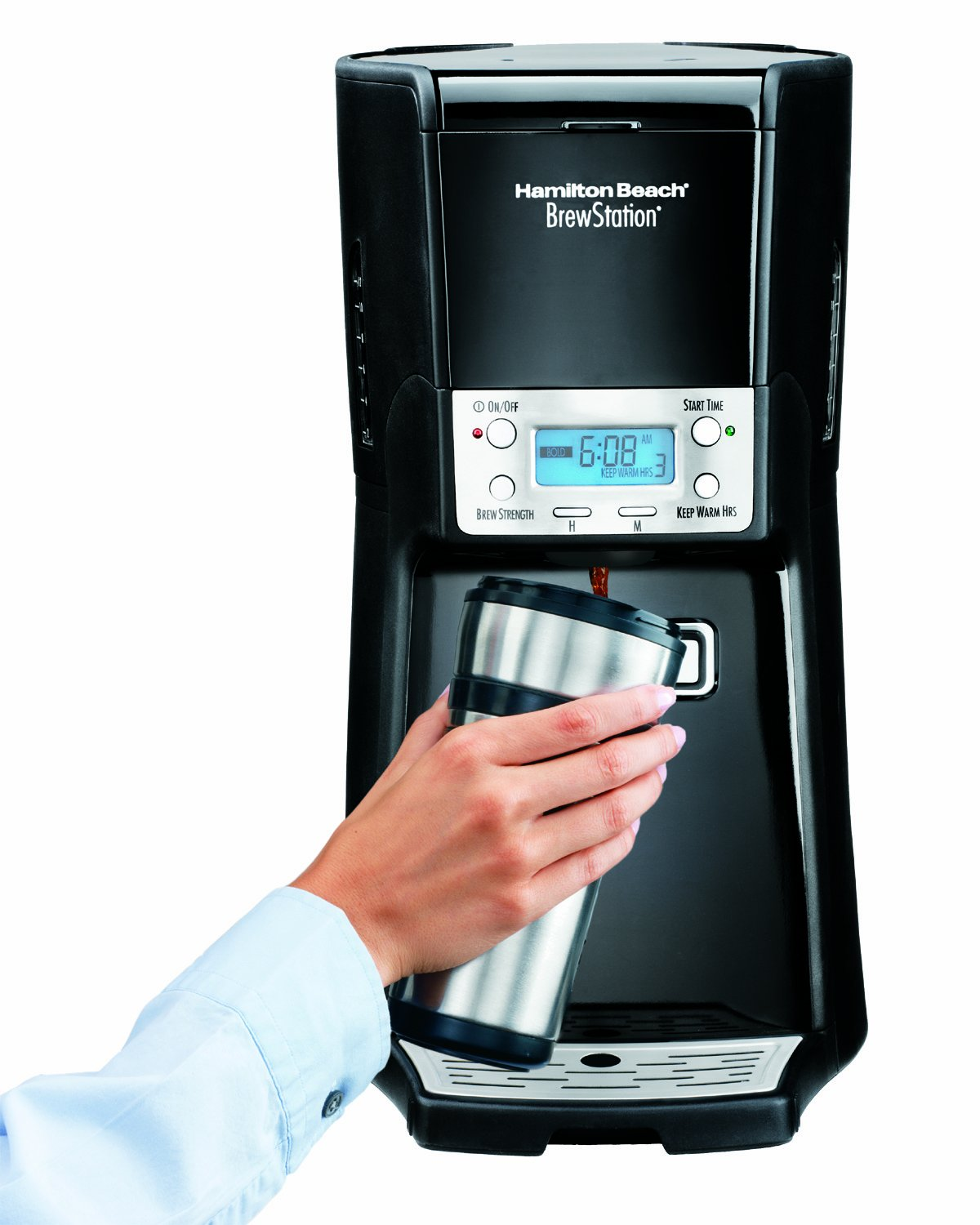 Hamilton Beach Brew Station Summit 12-Cup Dispensing Drip Coffeemaker (48463)