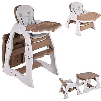 Amazon.com: Silla alta para bebé, silla infantil para comer ...
