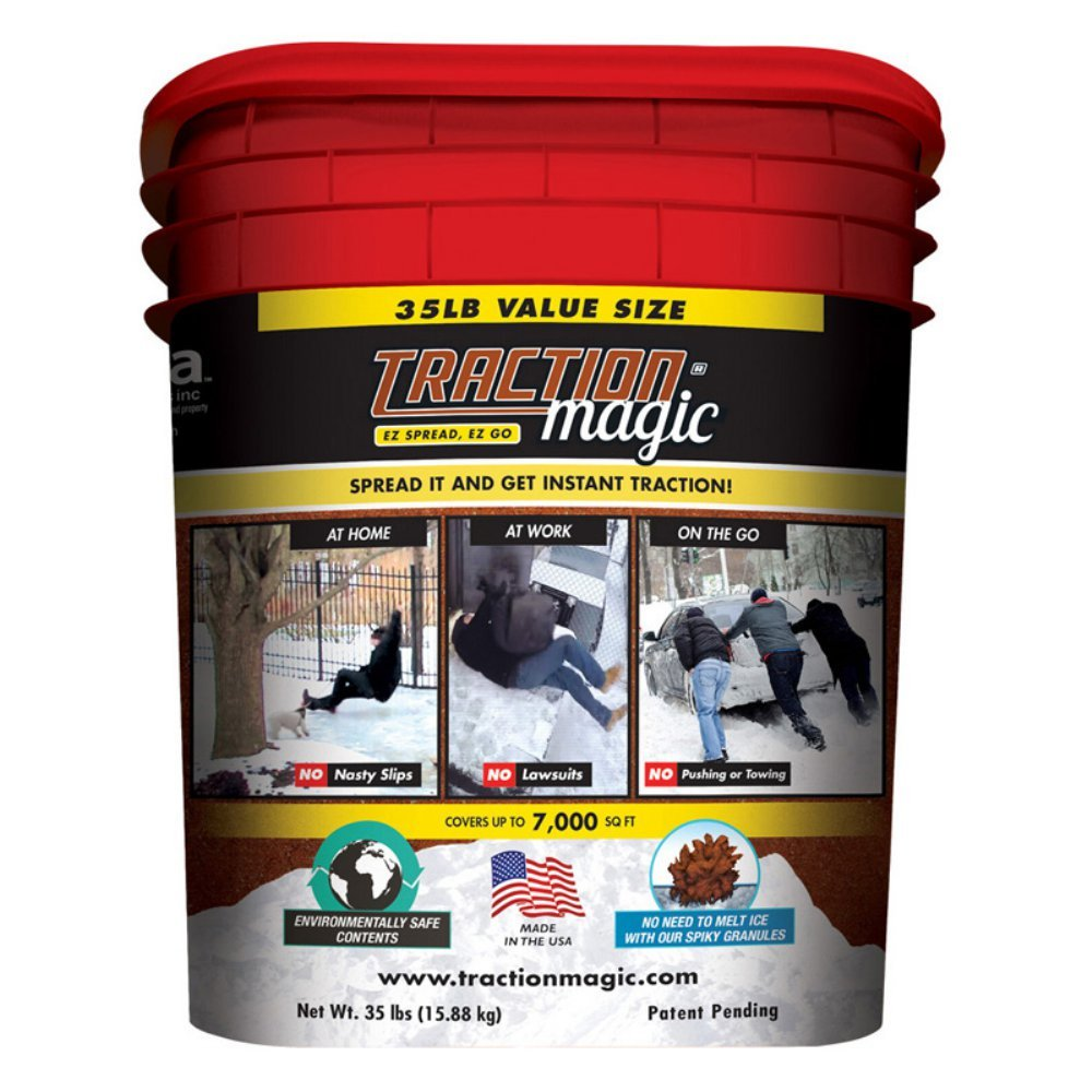 Traction Magic 35 lb. Pail of Ice Management Product