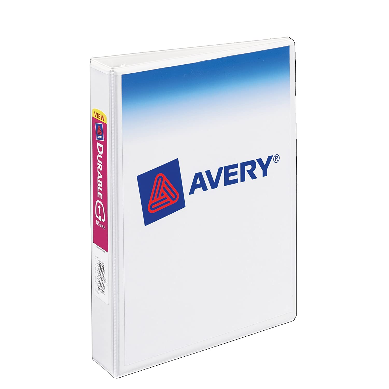 Avery Mini Durable View Binder For 5.5 X 8.5 Inches Pages