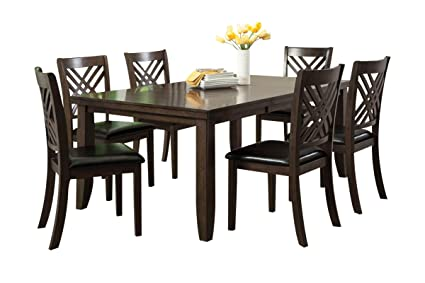 Gardner White Lebaron 7 Piece Dining Set   Includes Table + 6 Side Chairs