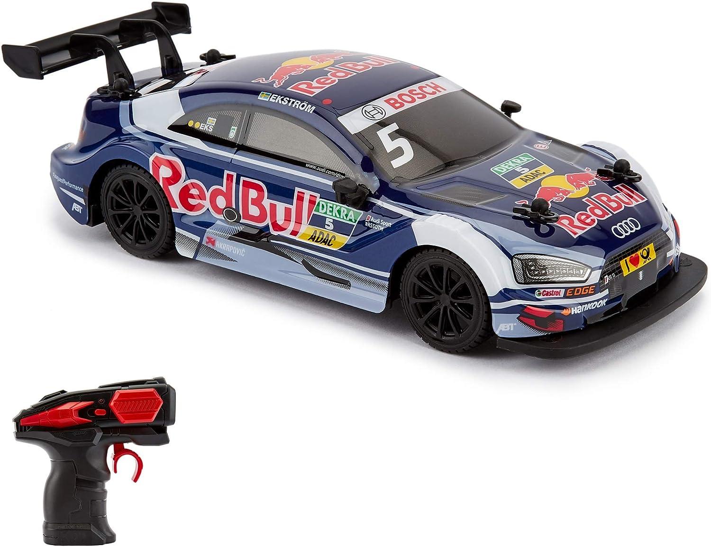 CMJ RC Cars 124RABL Audi RS5 DTM Offiziell Lizenziertes ferngesteuertes Autospielzeug