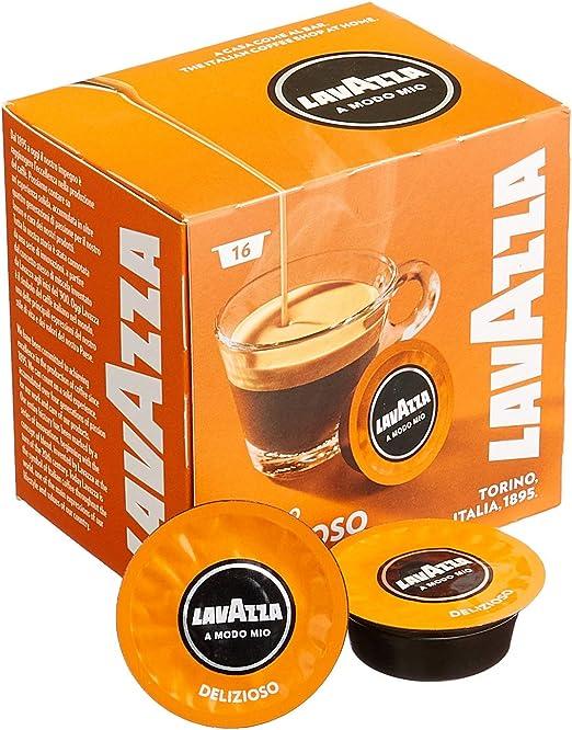 Lavazza A Modo Mio Delizioso Coffee Capsules 5 Packs Of 16