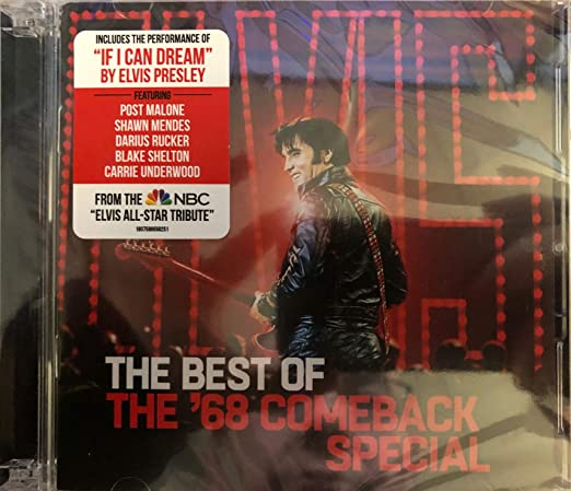 The Best Of 68 Comeback Special Exclusive CD DVD With Elvis