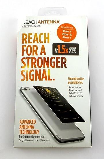 Amazon com: ReachAntenna Signal Booster for Apple iPhone 6, 6s, 7