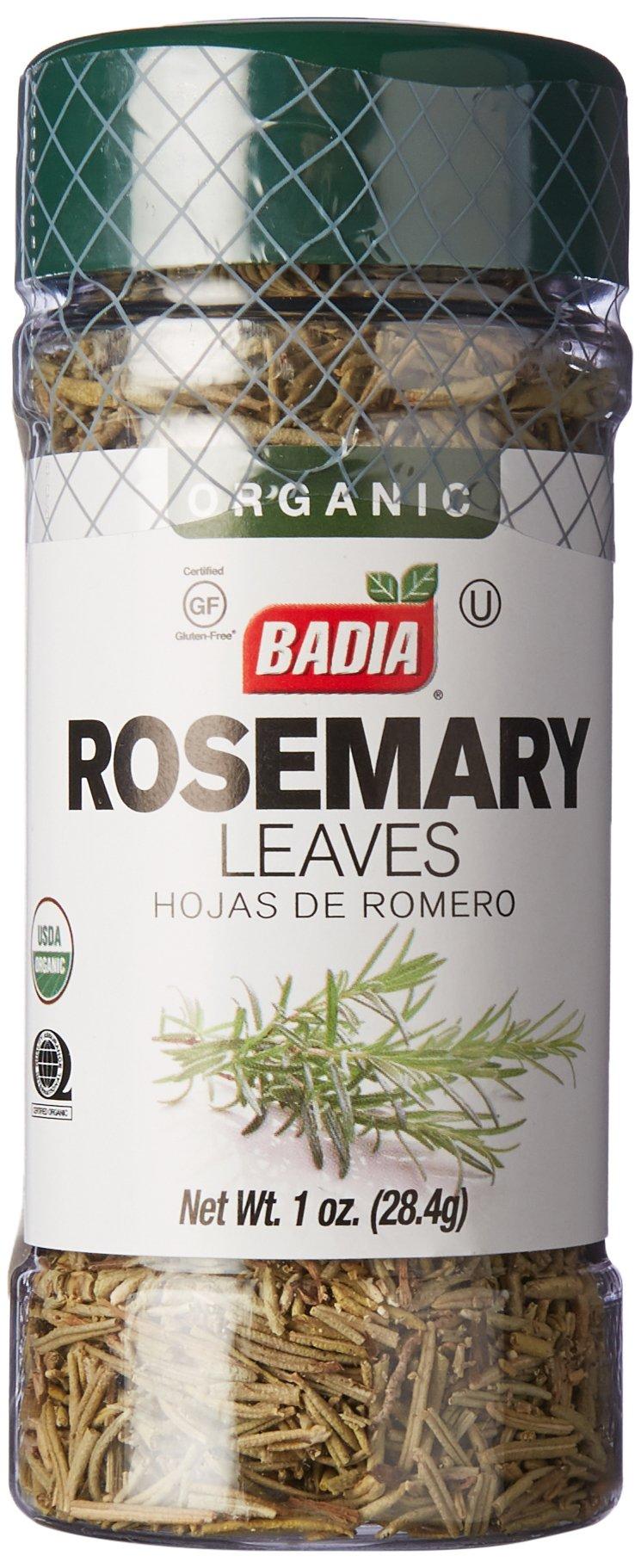 Badia Rosemary Leaves Organic 1 oz -Pack of 3