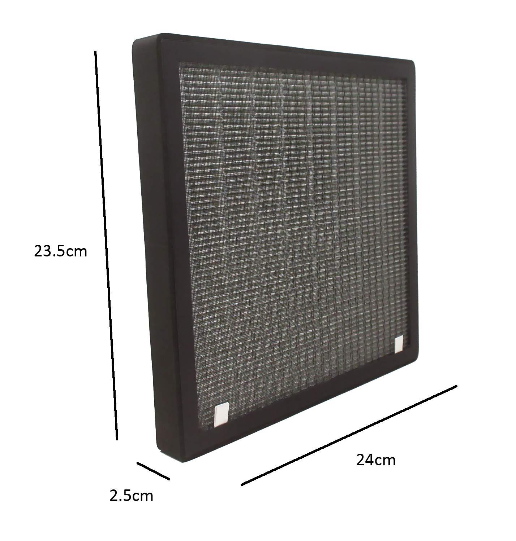 Sostituzione Hepa e filtro ai carboni per PM520