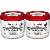 Eucerin Original Healing Cream   Body Moisturizer forExtremely Dry Skin, Compromised Skin   Emmolient Enriched Body Cream  
