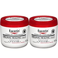 Eucerin Original Healing Cream - Fragrance Free, Rich Lotion for Extremely Dry Skin...