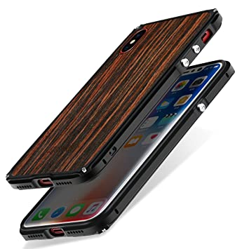 carcasa iphone x madera