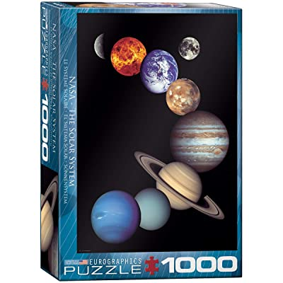 EuroGraphics Nasa Solar System 1000 Piece Puzzle: Toys & Games