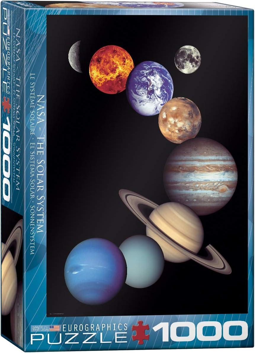EuroGraphics NASA The Solar System Puzzle - Rompecabezas (Puzzle ...