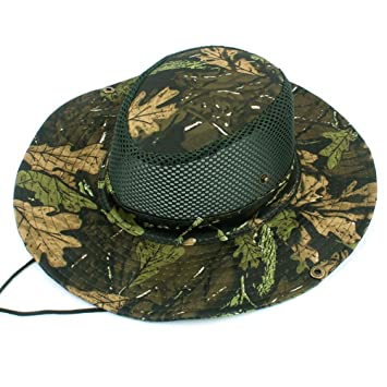 Unisex Bucket Cap Cotton Fishing Hunting Safari Military Men Sun Hat Magic