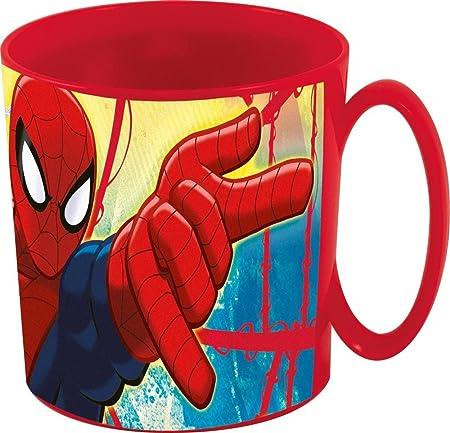 Marvel Spiderman de plástico Taza Infantil - Taza con asa para ...