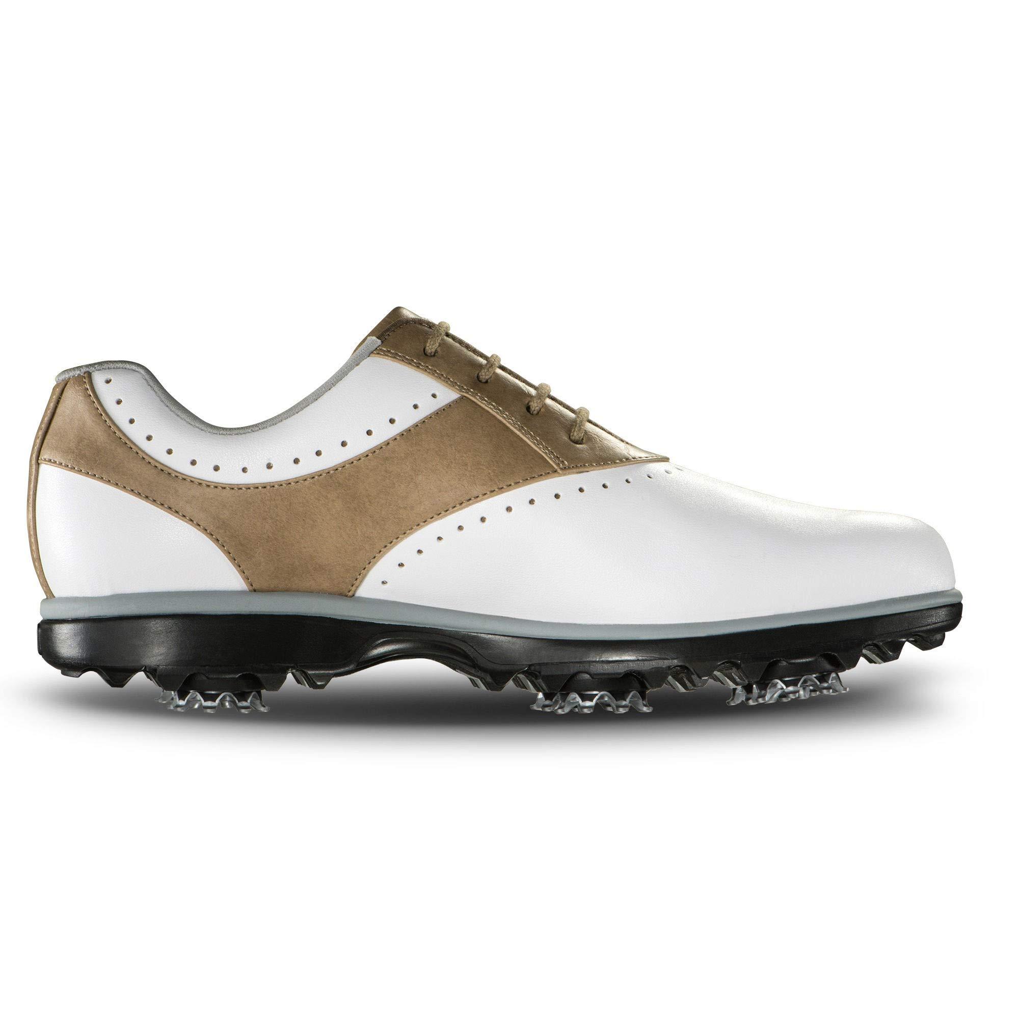 FootJoy Women's Emerge-Previous Season Style Golf Shoes White 6 M Taupe, US by FootJoy