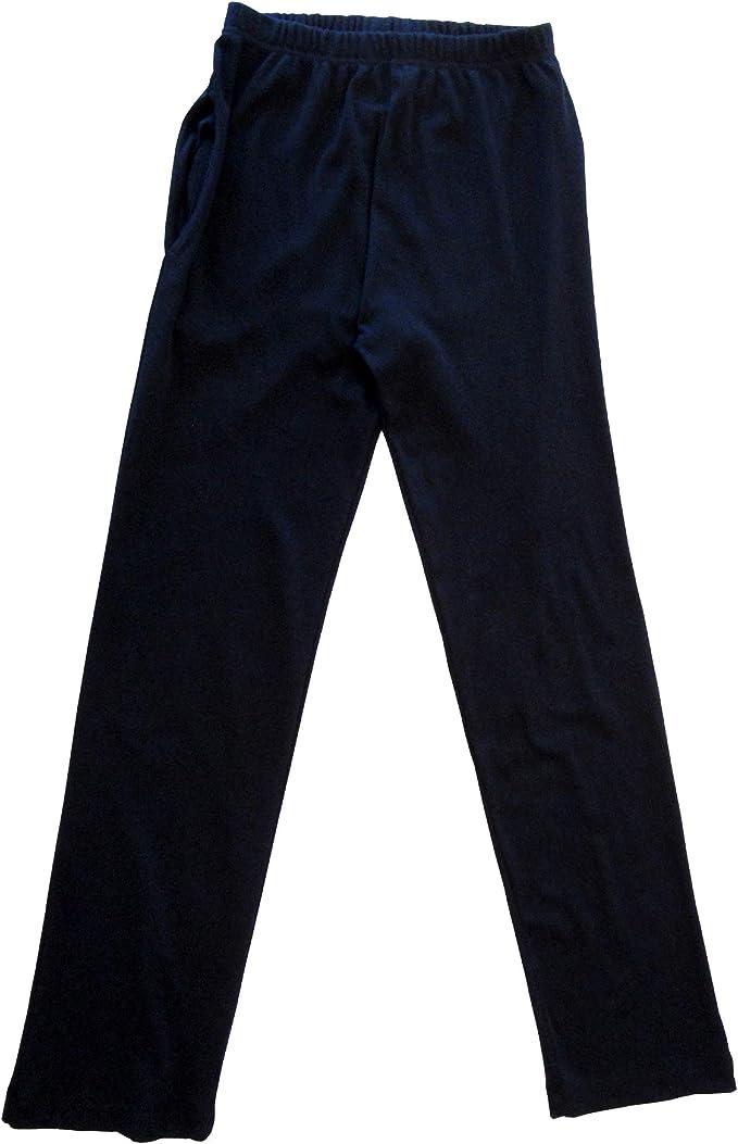 HERMKO 984 Pantalones de Estar por casa para Mujer, Tratamiento, Gimnasia, con Bolsillo, 100% algodón: Amazon.es: Ropa y accesorios