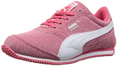 0dff896248065 PUMA Steeple Glitz AOG JR Sneaker (Little Kid/Big Kid)