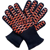 Homeerr P1638067 Heat Resistant Gloves-14 inch Long for Forearm (1 Pair)