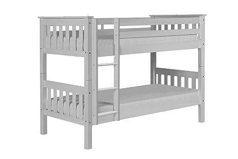 Letti A Castello Per Bambini Piccoli : White wash letto a castello in pino bambini piccoli letto