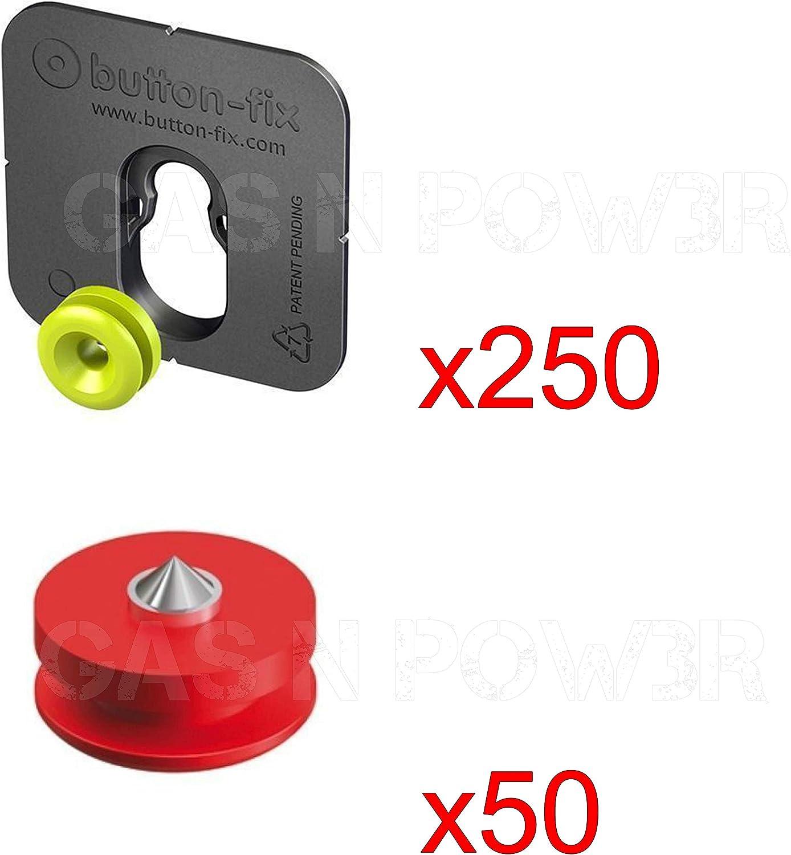 Bouton Fix reconstitu/é de type 1/support marqueur Guide Kit pour panneaux de collage X20
