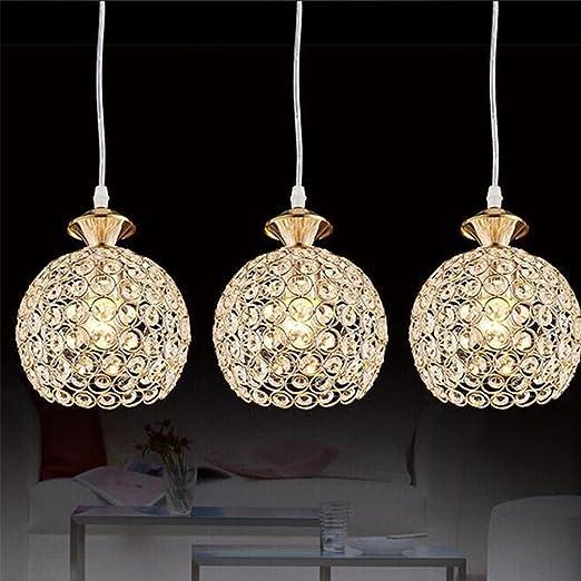 Luxus LED Decken Hänge Energie Spar Lampe Chrom Glas Kugeln Wohn Ess Büro Zimmer