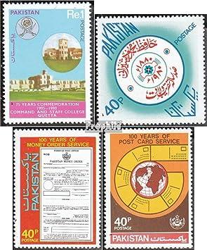 Prophila Collection Pakistán Michel.-No..: 526,528,533,534 (Completa.edición.) 1980 Quetta, Shairani, Correos (Sellos para los coleccionistas): Amazon.es: Juguetes y juegos
