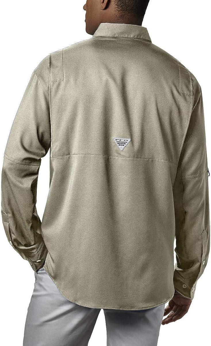 Columbia Mens PFG Tamiami Ii Long Sleeve UPF Shirt