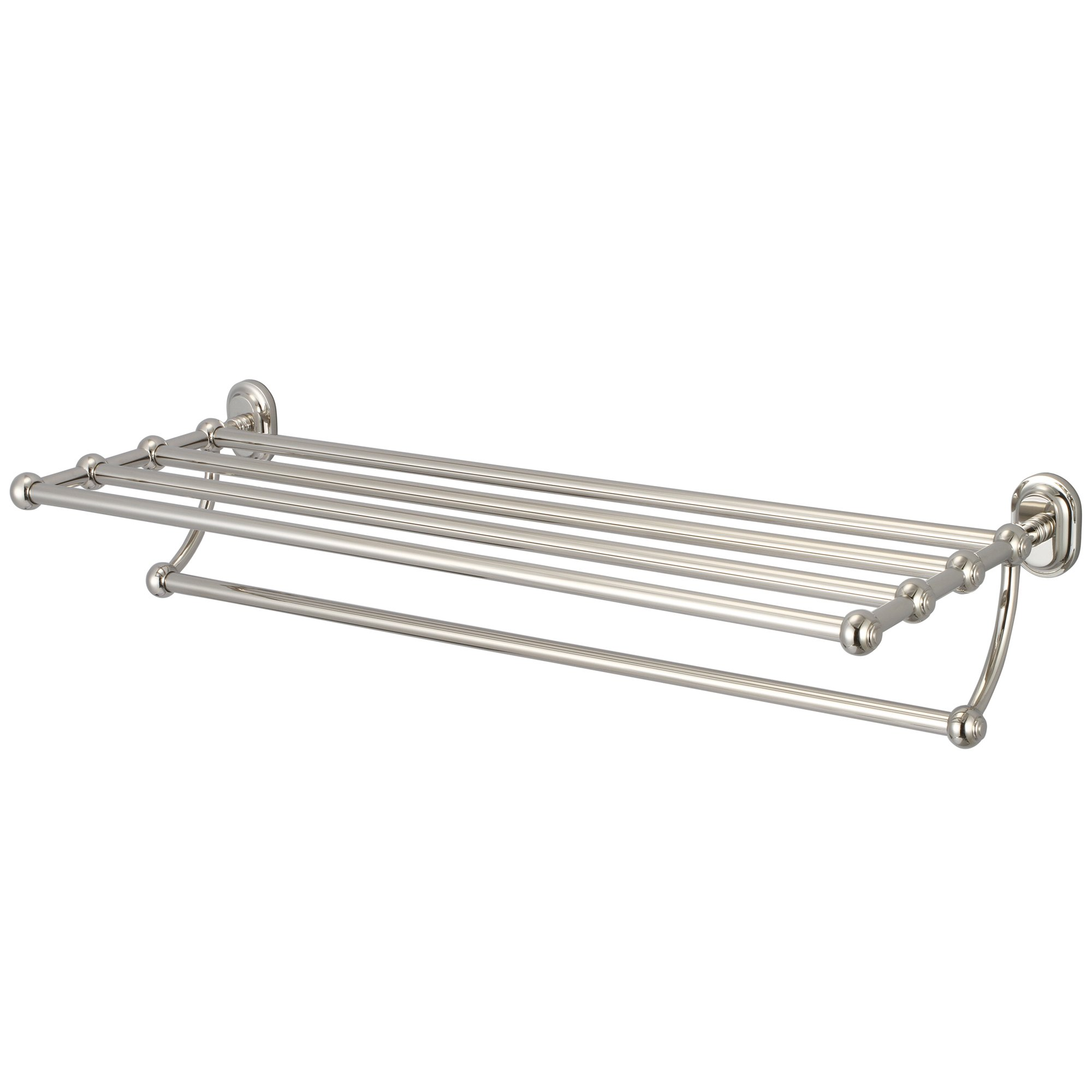 Water Creation BA-0001-05 Multi-Purpose Bath Train Rack As Restoration Hardware for Classic Bathroom