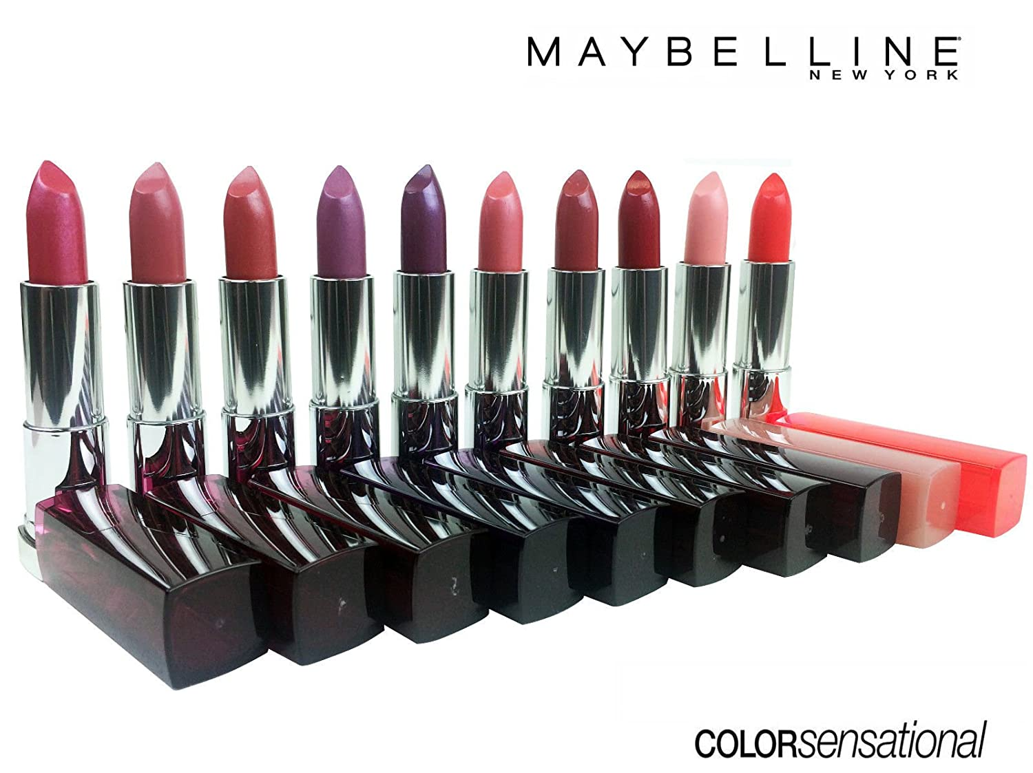 (10 Pack) Maybelline New York ColorSensational Lipstick Assorted Set Collection!