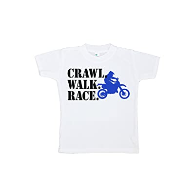 7 ate 9 Apparel Kids Crawl Walk Bike T-Shirt