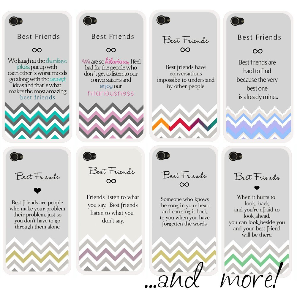 best friends quote iphone case best friends are hard to